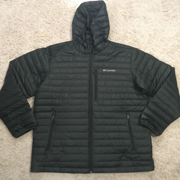 Columbia Men's Oak Apex Down Hooded Jacket